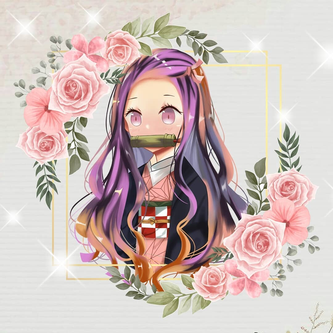 #animeartist #kimetsu #kimetsunoyaibathemovie #nezukokamado #nezuko #anime #art #digitalart #illustration #illustrator #opencommissions #commissionsopen #Commission