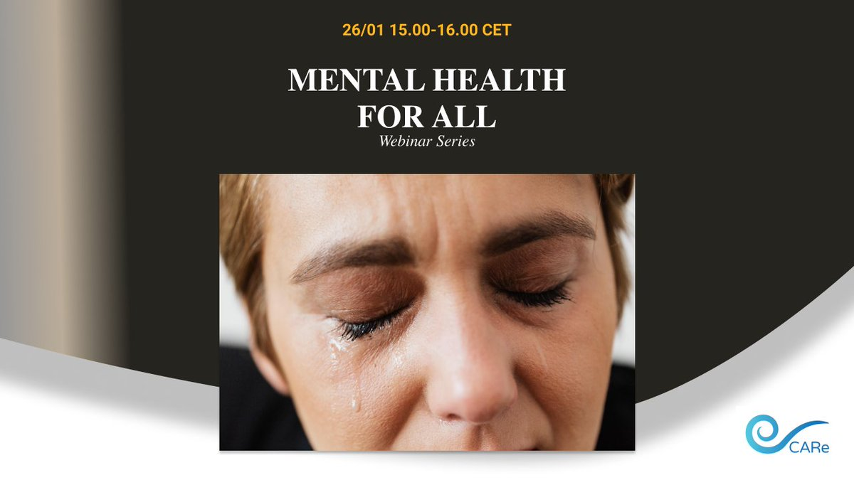 26/01 15.00-16.00 CET The mental health for all webinar series run by  United for Global Mental Health,  The Lancet Psychiatry,  Mental Health Innovation Network, and  MHPSS .net . #mentalhealth #Wellbeing