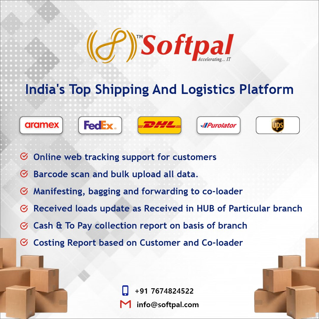 Send. Track. Deliver. Through your own White-label Software  #softpal #softpaltech #softpaltechnologies #business #success #happy #follow  #courier #delivery #logistics #transport #business  #couriersoftware #ecommerce #CMS #ondemandsoftware #couriermanagementsoftware