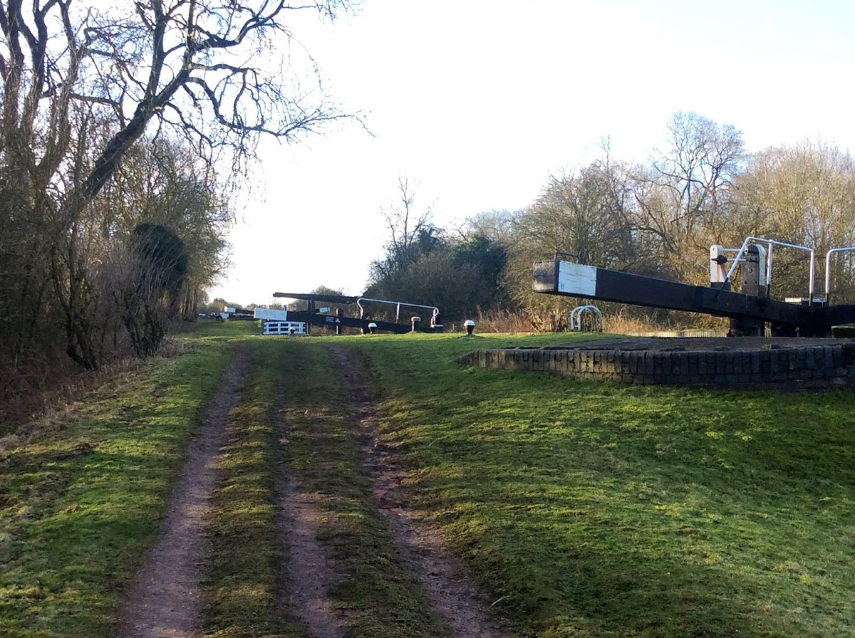 From my archives   #January 2018  #CanalRiverTrust #GrandUnionCanal #NorthhamptonArm #Lock #LiftBridge #Bridge   #Canals & #Waterways can provide #Peace & #calm for your own #Wellbeing #Lifesbetterbywater