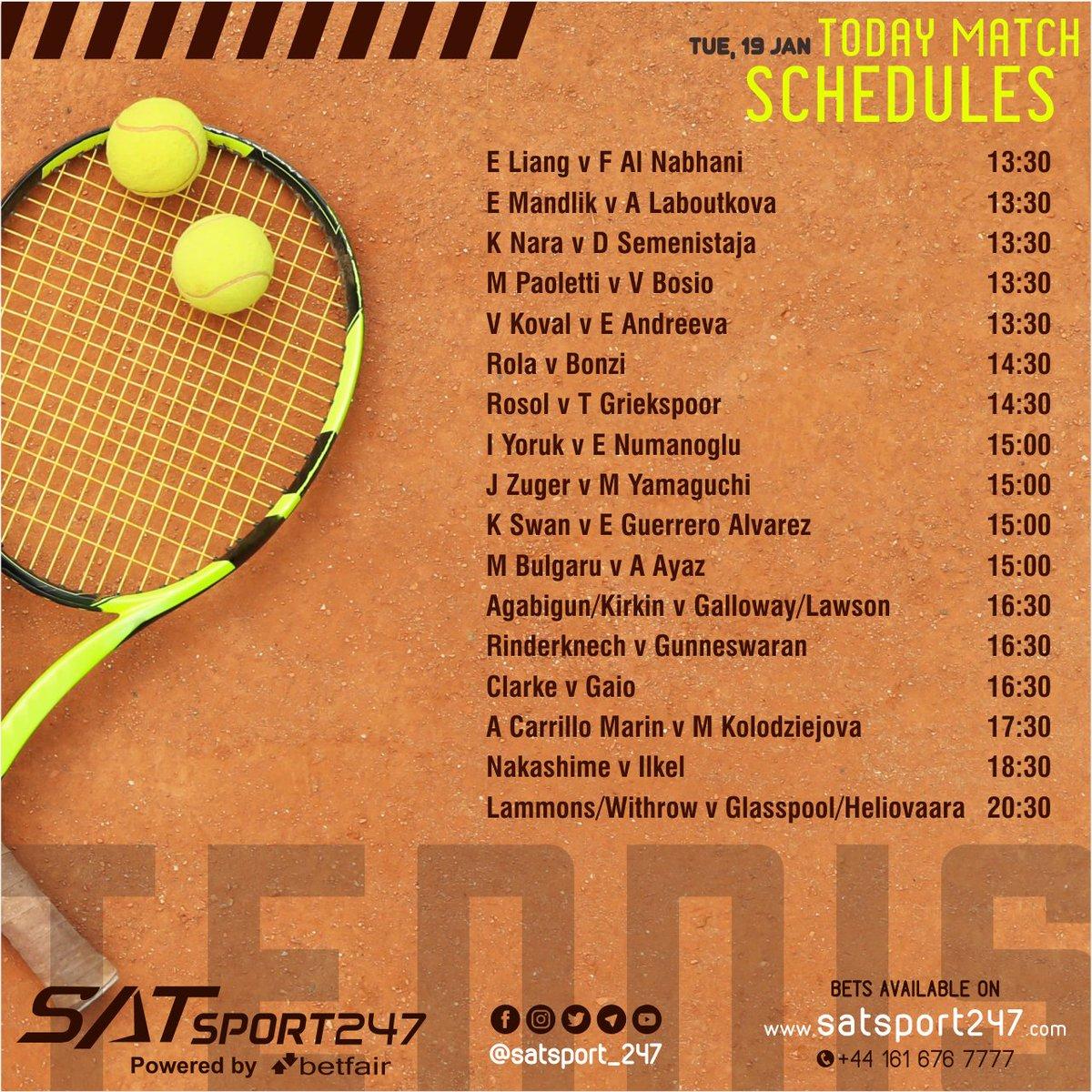 "SatSport 247 gives everyone an ""important update""  Game Schedule🤩🤩  Tennis 🎾  ✔️Sign Up - Free!! 🤩 ✔️Self ID Making 🤩 ✔️Minimum Deposit - 500/- ✔️Minimum Withdrawal - 500/-  Self Deposit and Withdrawal   Contact Now -  +44-1616767777 #Tennis #rafaelnadal #Rogerfederer"