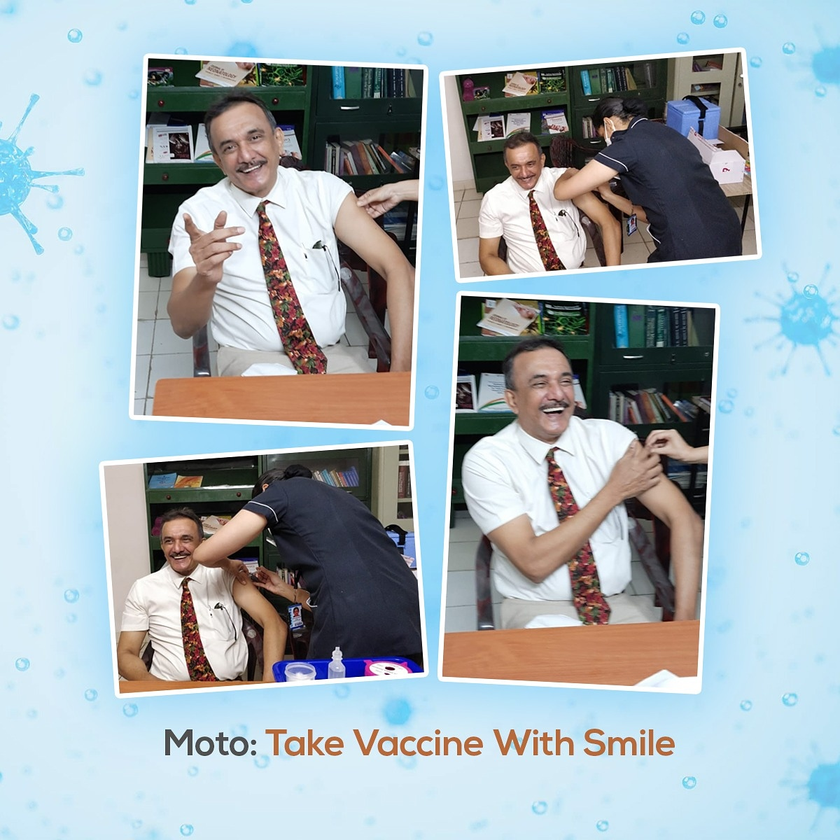 Just took covishield vaccine a few minutes back with a moto take Vaccine with a smile 😊😊  #vaccination #vaccinationtime  #covid19 #moto #vaccinewithsmile #covishield https://t.co/RbnyAXjzW2
