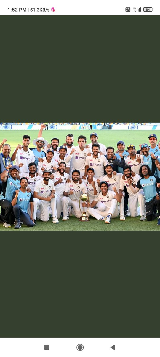 This is new INDIA ladds...  No words to describe the performance of 🇮🇳🇮🇳🇮🇳 true exhibition of self belief and positive mindset #AUSvsIND #IndianCricketTeam
