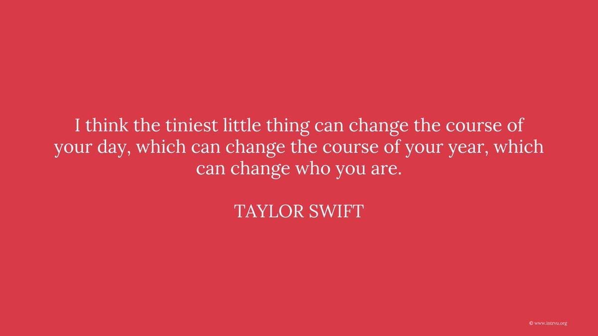 Taylor Swift #quote #intrvu #inspiration