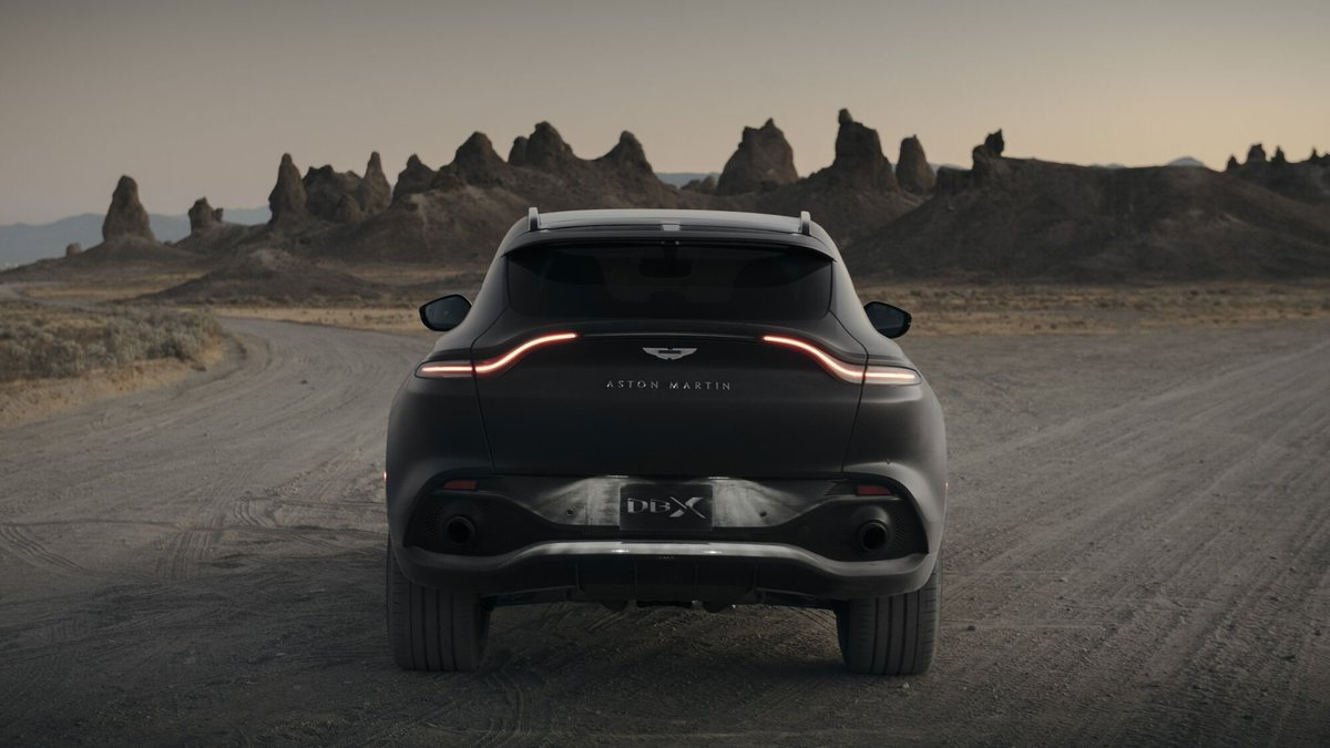 An instantly recognisable Aston Martin – DBX is more than just an SUV.  Book a test drive: https://t.co/YIy8p6wBRo  #AstonMartin #DBX https://t.co/QVMJ58aANA