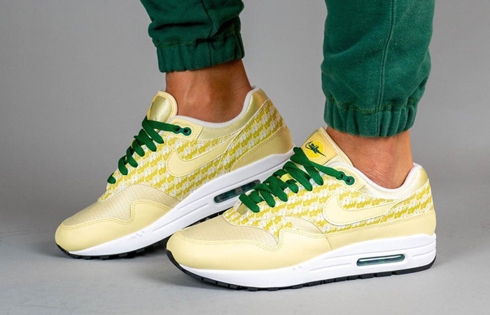 Nike Air Max 1 Lemonade Still Attainable!!  END> ISM> Footpatrol>  #nikeairmax #lemonade #classic #hit #top #newlook #fashiongoals #latest #smart #exclusive #trendy #instock #sneakerfreak #stylelicious #fastsole