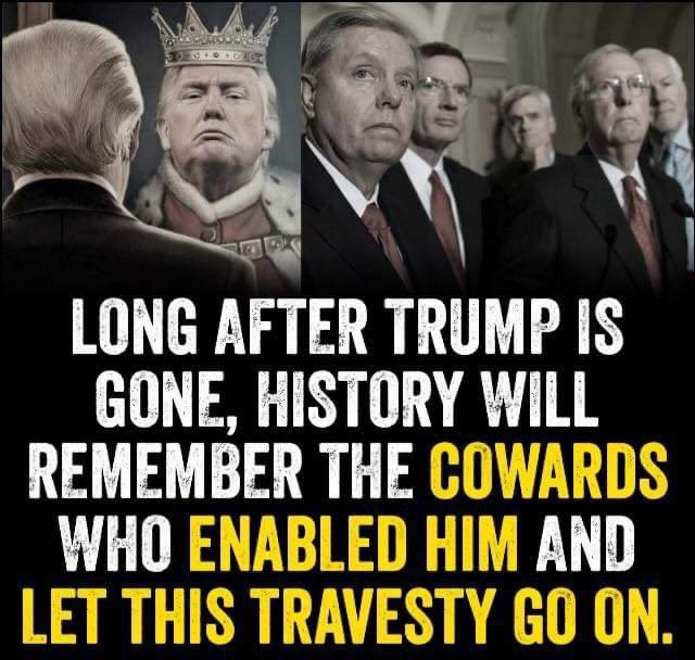 #LindseyGrahamResign you should be held accountable for everything you did in support of this #CriminalTraitor #NoOneIsAboveTheLaw