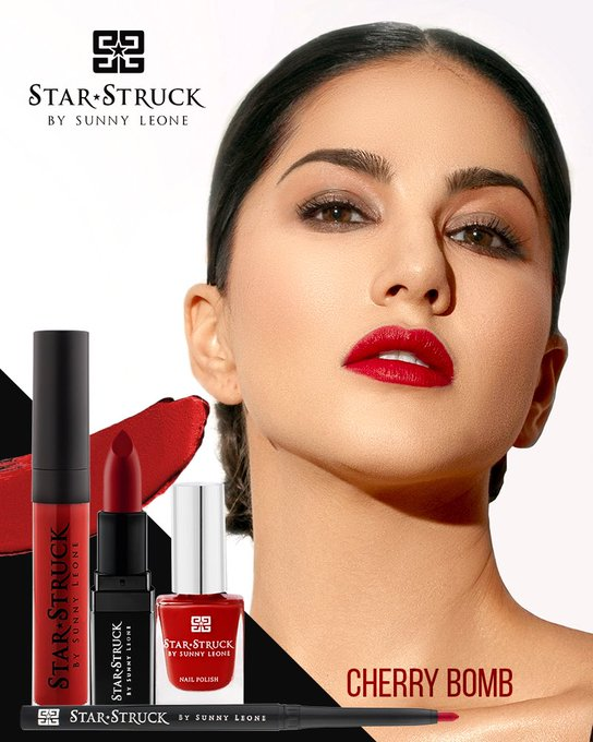 The perfect Lip color ever created -  #CherryBomb 💄💋  Available on  💋 https://t.co/BzomRY7QhJ  💋 @myntra