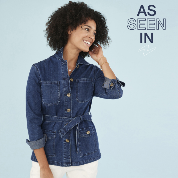 Did you see our feature in Take a Break magazine? Were over the moon that they love our Belted Denim Jacket, a layering wardrobe staple to take you through to spring. Grab yours: bit.ly/2M6ayQ4