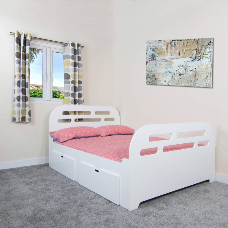 🌈TEEN SLEEPER BED WITH DRAWERS - Starting from £375 plus delivery    🛍️ Find it hard to obtain finance? Try our NEW Snap Finance plan for 0% Finance packages.  #teenagers #bed #single #double #smalldouble #kingsize #DRAWERS #kidsfuntimebeds