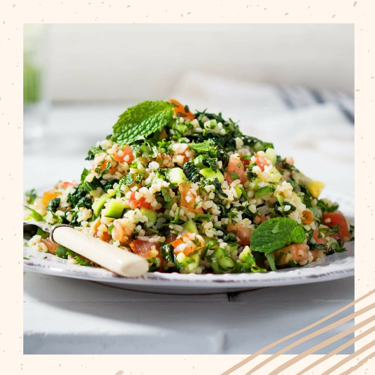 "Tabbouleh + kale  = your weeknight ""Kabbouleh"" dream meal! Its quick and packed with flavour.  Find your great value ingredients Bedford Woolworths   #BedfordCentre #AClassofitsOwn #Woolworths #Food #Tasty #Taste #Yummy #Delicious #Fresh"