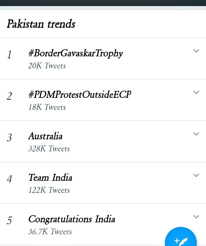 Trends in Pakistan ❤️🇵🇰  #BorderGavaskarTrophy #AUSvIND #AUSvsIND #GabbaTest #RishabhPant #IndiavsAustralia