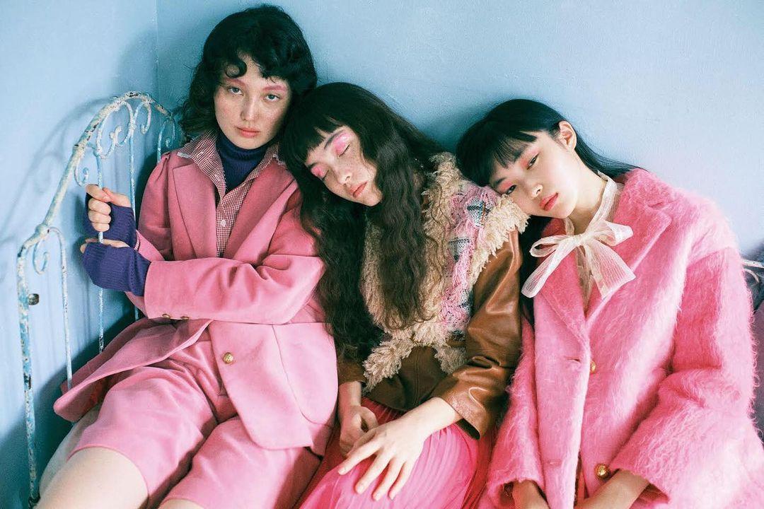 発売中の『#装苑』1月号 特集は「ロマンティック。」  p.26 ...   #FashionJP #Mrina #Pink #Soen #SoenOnline #ピンク #モトーラ世理奈 #文化出版局 #装苑 #装苑O