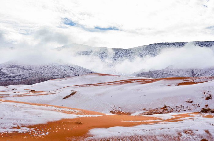 #Snow On The #Sahara   via @YouTube #Angunn #Youtube #video #music #musica #musicvideo #desert #africa #Snowing #winter #Weather