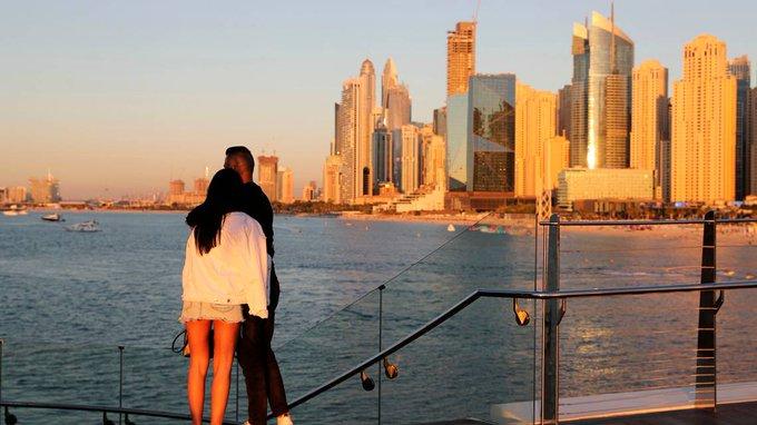 Dubai, party haven amid pandemic, faces its biggest surge Photo