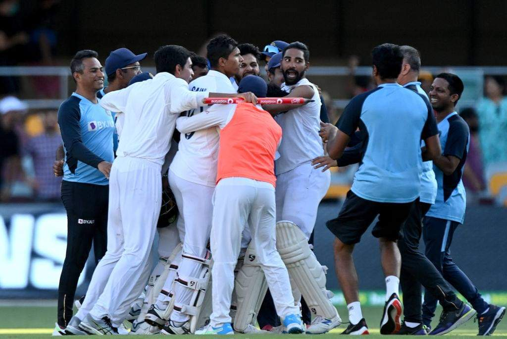 Congratulations to #TeamIndia on a historic test series win in Australia to retain the #BorderGavaskarTrophy. A great performance !