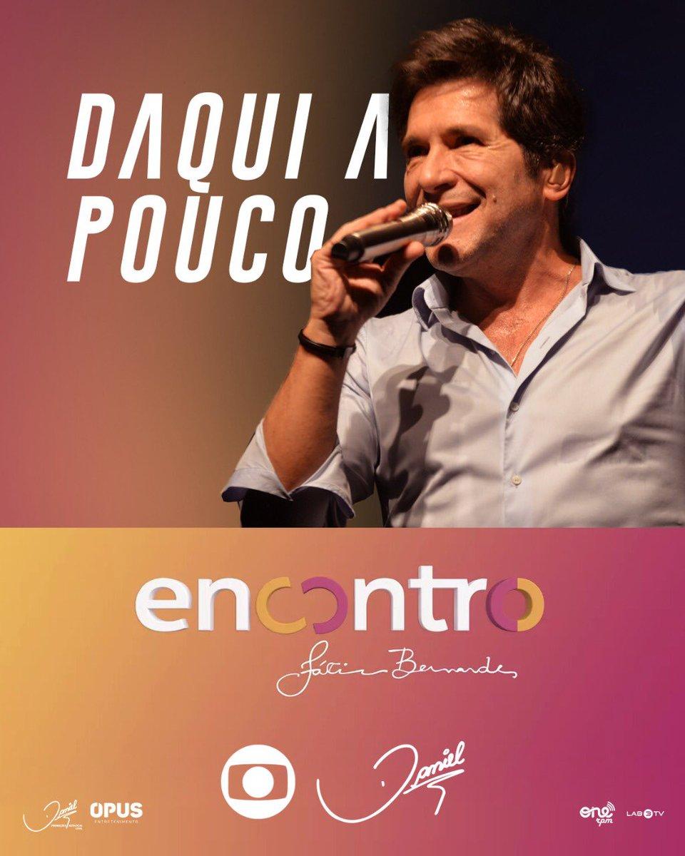 TV | Daqui a pouco, tem Daniel no @EncontroFatima, na @redeglobo, 10h45!!! 💖 #Encontro #ProduçãoDaniel