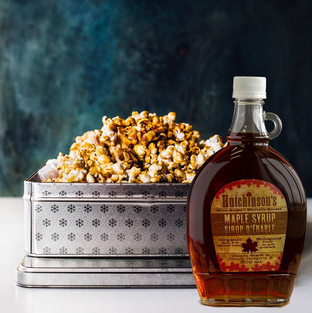 Need a quick Healthy Snack? Try this quick and easy Healthier Homemade Caramel Corn with Walnuts. #healthytreats #guiltfreesnacking #healthysnacks #caramel #maple #healthyfood #healthyrecipes #healthykids #healthykidsfood #healthykidssnacks #tuesdaytreat