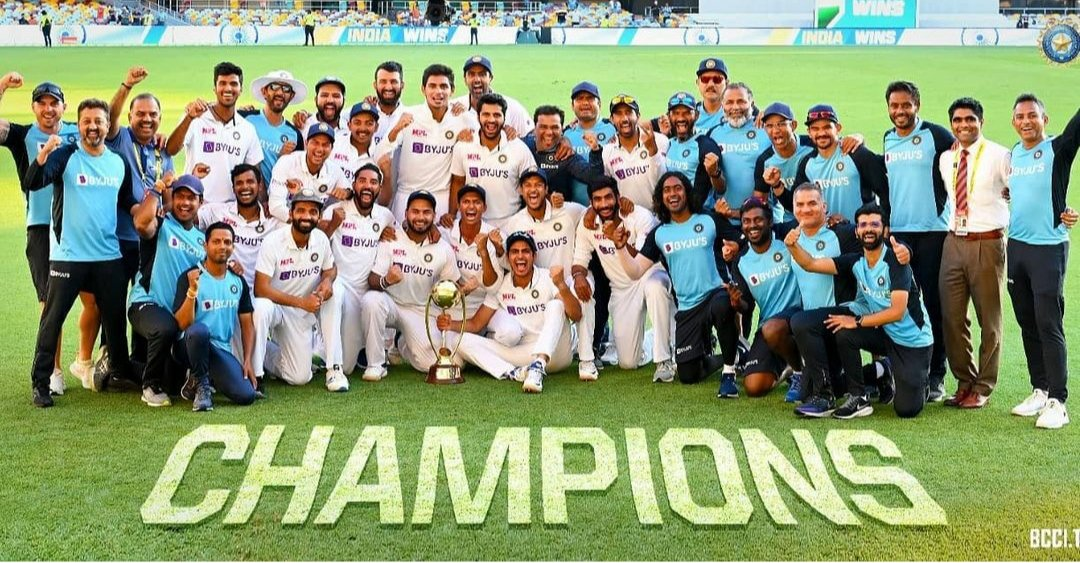 A performance we will remember forever.😍 Congratulations #TeamIndia A brilliant series, terrific brand of cricket on display. You were fantastic. 🇮🇳🙌