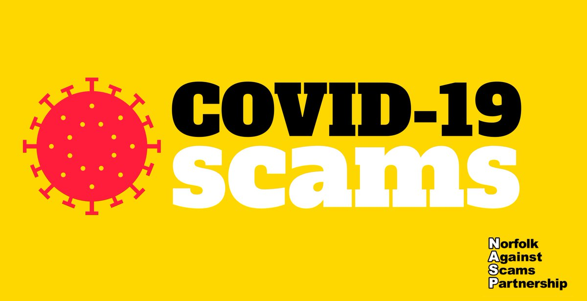 The #COVID19 #vaccine will only be administered free of charge through the NHS. They will never:  💳 Ask for bank details 🚪 Arrive unannounced ❔ Ask for proof of identity  Report anything suspicious to @actionfrauduk✅ Help spread the word by telling your at-risk loved ones👐 https://t.co/ytse6Q5fQQ
