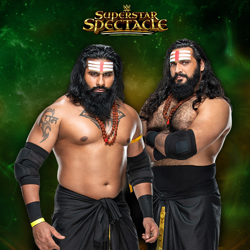 THE FUTURE IS HERE! Tell us your dream tag team opponents for #IndusSher. ⬇️  #WWESuperstarSpectacle @RealRinkuSingh @gurjar_saurav @SonySportsIndia