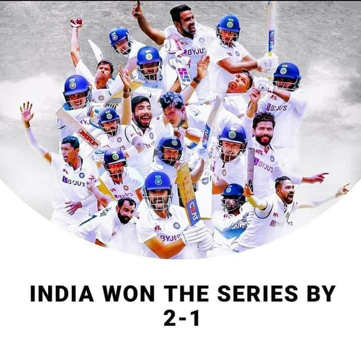 Congrats #TeamIndia