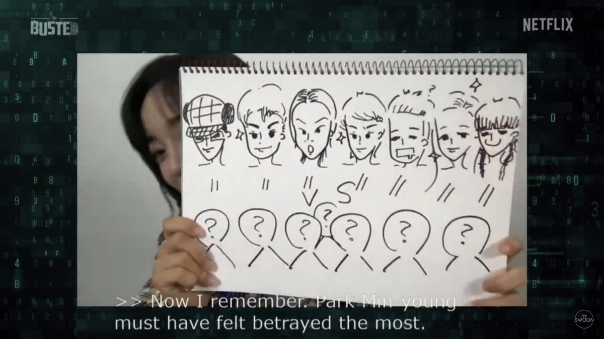 sejeong's drawing is so good you can really tell who is who. and look at how she draw sehun so cute 😭