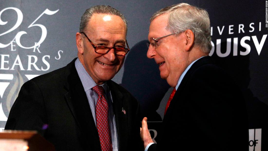 Mitch McConnell and Chuck Schumer close in on a power-sharing agreement in evenly divided Senate https://t.co/8E3FCnZXnu https://t.co/Yc3SGY2D5G