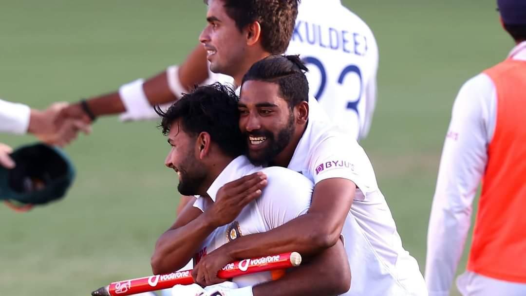 Picture speaks!! ❤️  #TeamIndia #AUSvIND