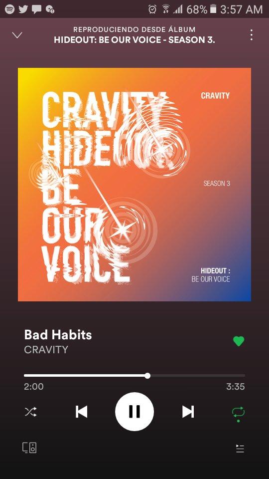 AMOOOOOOOOO, EL MV Y EL ALBUM ESTÁN INCREÍBLES 😭🔥 wow con #BadHabits 🔥🔥🔥🔥🔥 #HIDEOUT #BE_OUR_VOICE #My_Turn