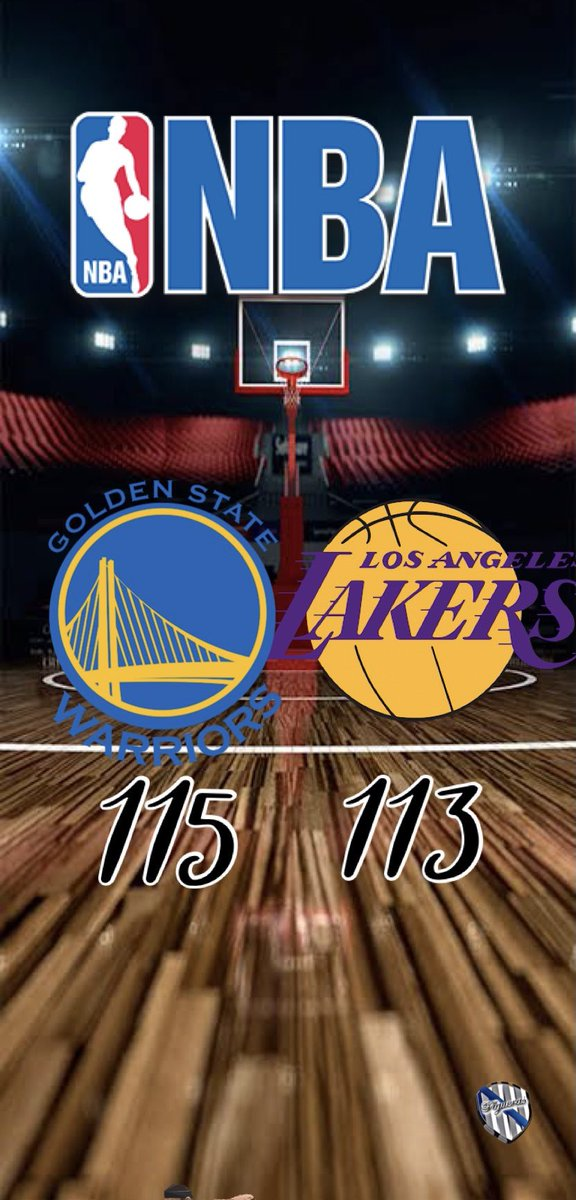#NBA (18-01-21):  #DubNation 115-113 #LakeShow   Imparable Curry frente a los Campeones!!!!!