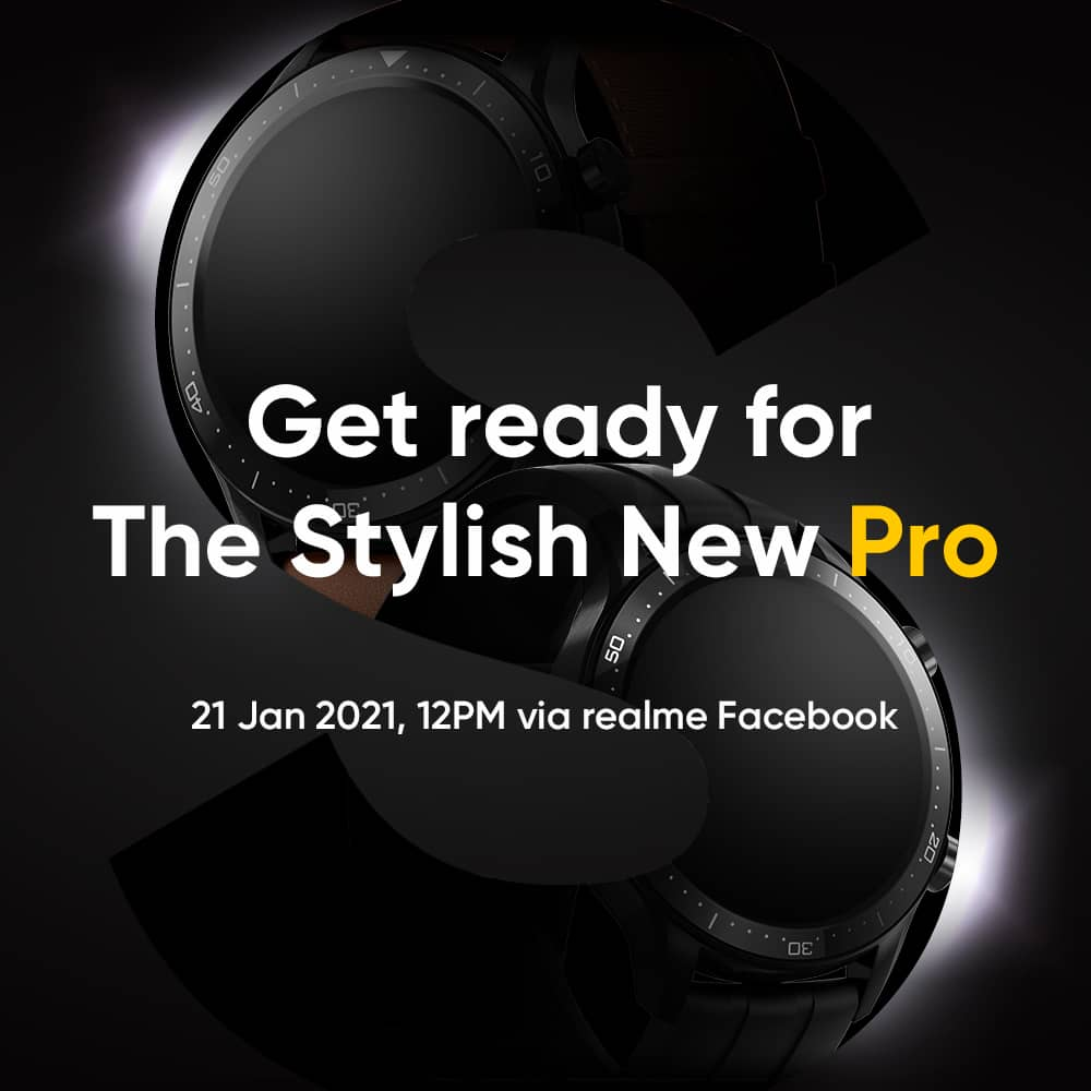 ✨The wait is finally over. @realmemobiles  will be launching their #StylishNewPro ---- realme Watch S Pro!  Catch their live stream on 📌21 Jan at 12pm via realme Facebook page.  #SmartWatch #realmeWatchSPro #realmeMalaysia #Xscape21 '