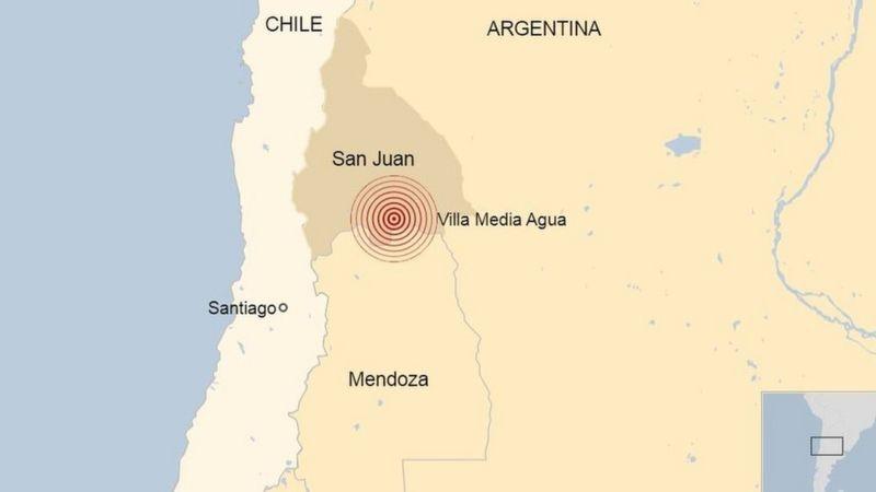 Terremoto en Argentina: un sismo de 6,4 se registra en San Juan  y se siente en varias provincias del país - https://t.co/gyrFe4ME3M - #Internacionales #fronteraresumen .... https://t.co/yyzGI9O133