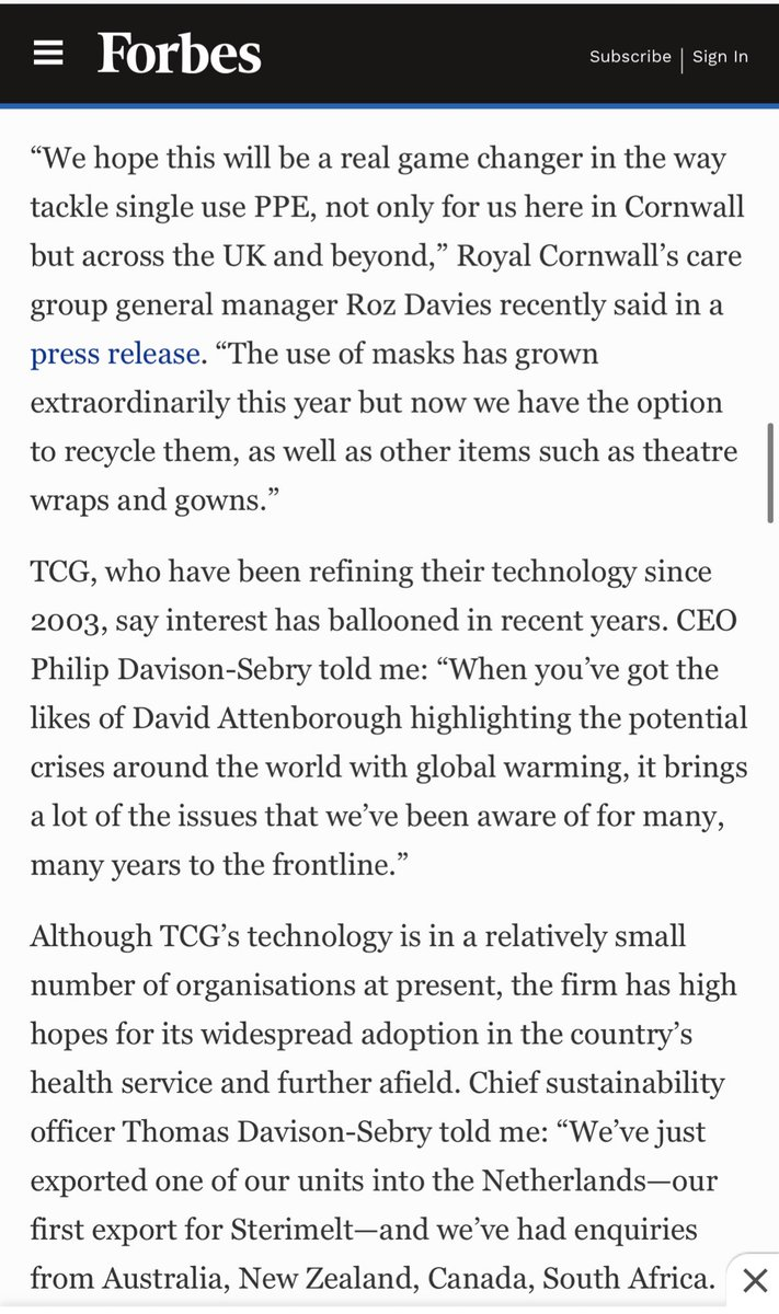 🌎♻️ Spreading the word worldwide! Congratulations @RCHTWeCare  The pioneers in mask melting ♻️🌎 @Thomlafferty @NHSImprovement @NHSEngland @sduhealth @SusHealthcare @TCG_LTD @RCHT_SSD #ClimateEmergency @Forbes   https://t.co/2h5rwLw7N0 https://t.co/R1ZHXynzGf