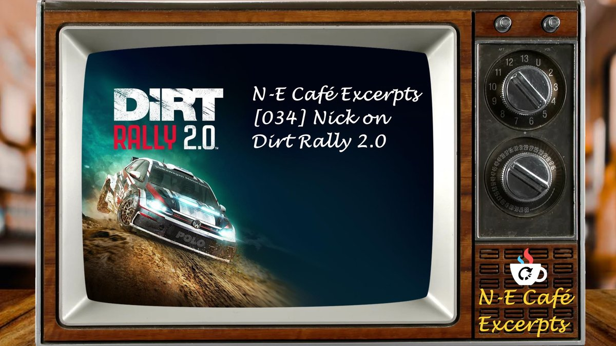 N-E Café Excerpts [034] Nick on Dirt Rally 2.0  This Podcast Excerpt is taken from 'N-E Café [034] PodPals (Doom 3)': Driving away from the Switch, Nick takes on the world's might in this Codemasters racing game. @NECafe2 @N_Europe #Podcast #dirtrally