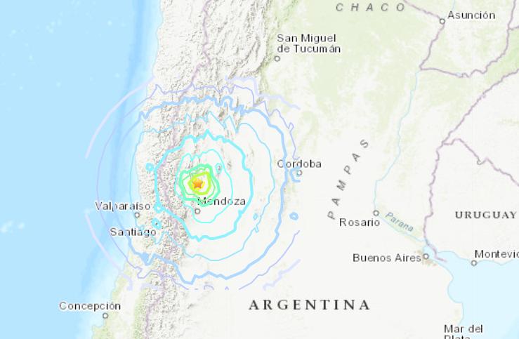 TERREMOTO IN ARGENTINA: Forte scossa di magnitudo 6.4 nella provincia di San Juan: Ci sono danni e crolli, seguite da numerose repliche e blackout https://t.co/bZl56cDtI8