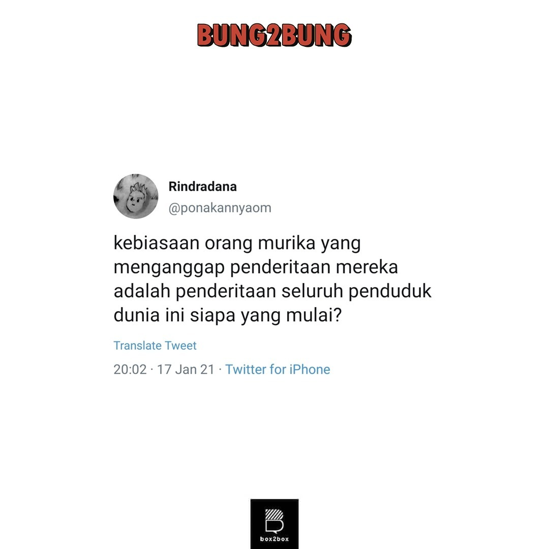 #Bung2Bung kembali!  Bung Ran dan Bung Rin kali ini akan membahas topik terhangat mulai dari prestasi kota Jakarta sampai kontroversi warga Amerika Serikat yang menyulut persatuan netizen Indonesia.  Selengkapnya di episode terbaru: