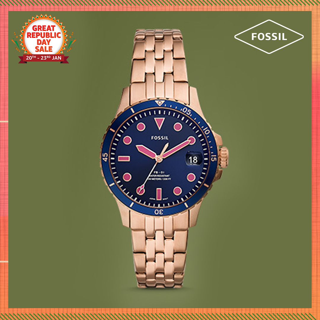 Like to wrap your wrists in stylish & timeless elegance? Then a watch from Fossil is just the thing for you. Shop now & get them at up to 50% off during the #AmazonGreatRepublicDaySale:   #NewBeginningBigSavings #Watches #AmazonFashion #HarPalFashionable