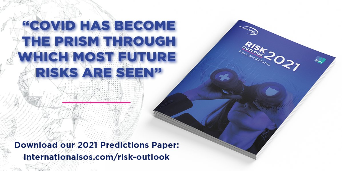 The risk level to the global workforce has reached its highest since 2016, according to the findings of our recent research with @Ipsos. Download our Five Predictions for 2021 now: https://t.co/79u2BKiaKV#COVID19#dutyofcare#infodemic#CrisisManagement#CrisisResponse https://t.co/r7MJY9SmuZ