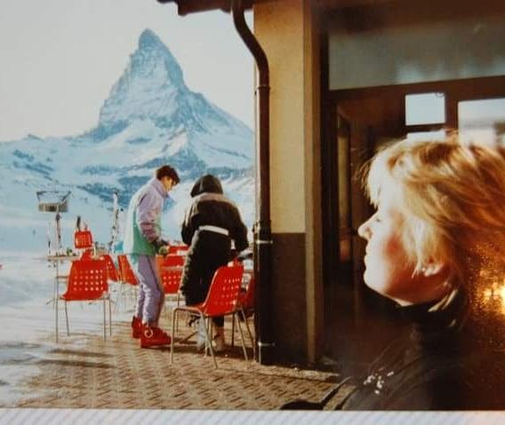 Would love a bit of Matterhorn sun on my face right now 💫💙💫 #lockdowm #dreaming #zermatt #zermattmatterhorn #matterhorn #ski #skiing