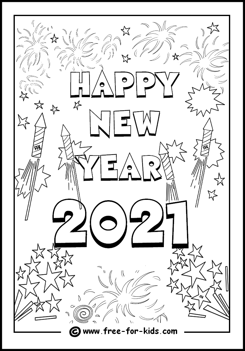 Happy New Year Wiches   :  Happy New Year Colouring Pages -  - #ChineseNewYear #ChineseNewYear2019 #HappyNewYear #HappyNewYear2019 #NewYearWiches #NewYearWiches2019 #NewYearsDay2019 #NewYearsEve2019 #NewYearsEveDay