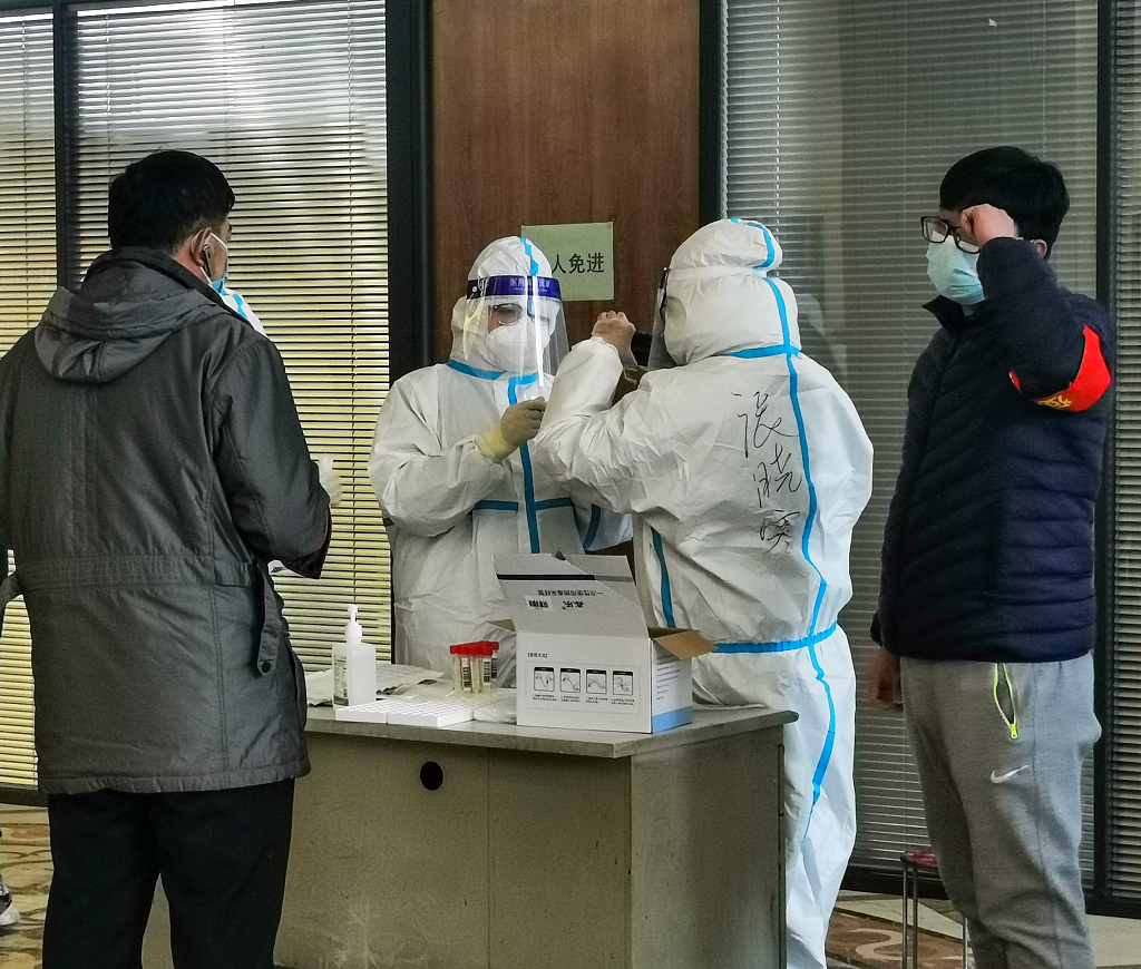 #Shijiazhuang in North #China's Hebei Province vows to organize a new round of citywide nucleic acid testing from Wednesday, to be completed within three days. Local residents have been asked to stay at home during the testing period.