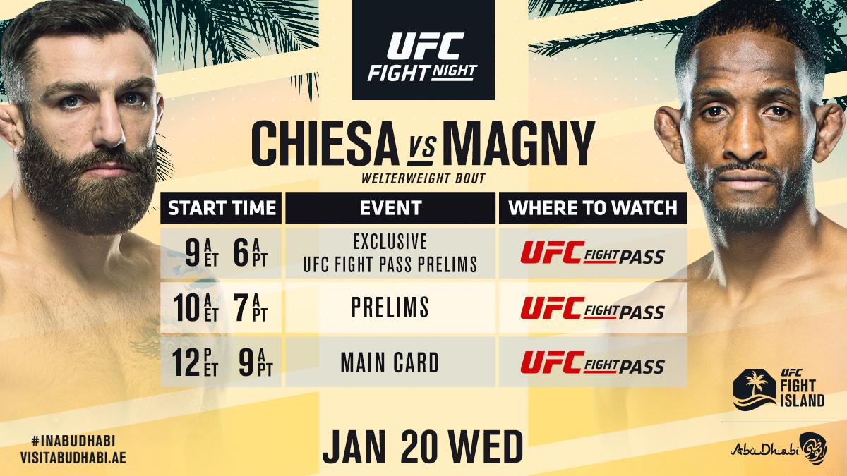 Get the coffee ready!! We got an early start at #UFCFightIsland8 tomorrow ☕️👊  #InAbuDhabi | @VisitAbuDhabi https://t.co/PgtdyhdDmT