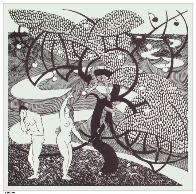 Fall of man, 1920 #surrealism #mcescher