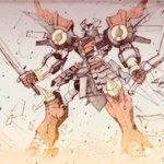Image for the Tweet beginning: 何となく過去絵 スパロボ関連です  #スーパーロボット大戦