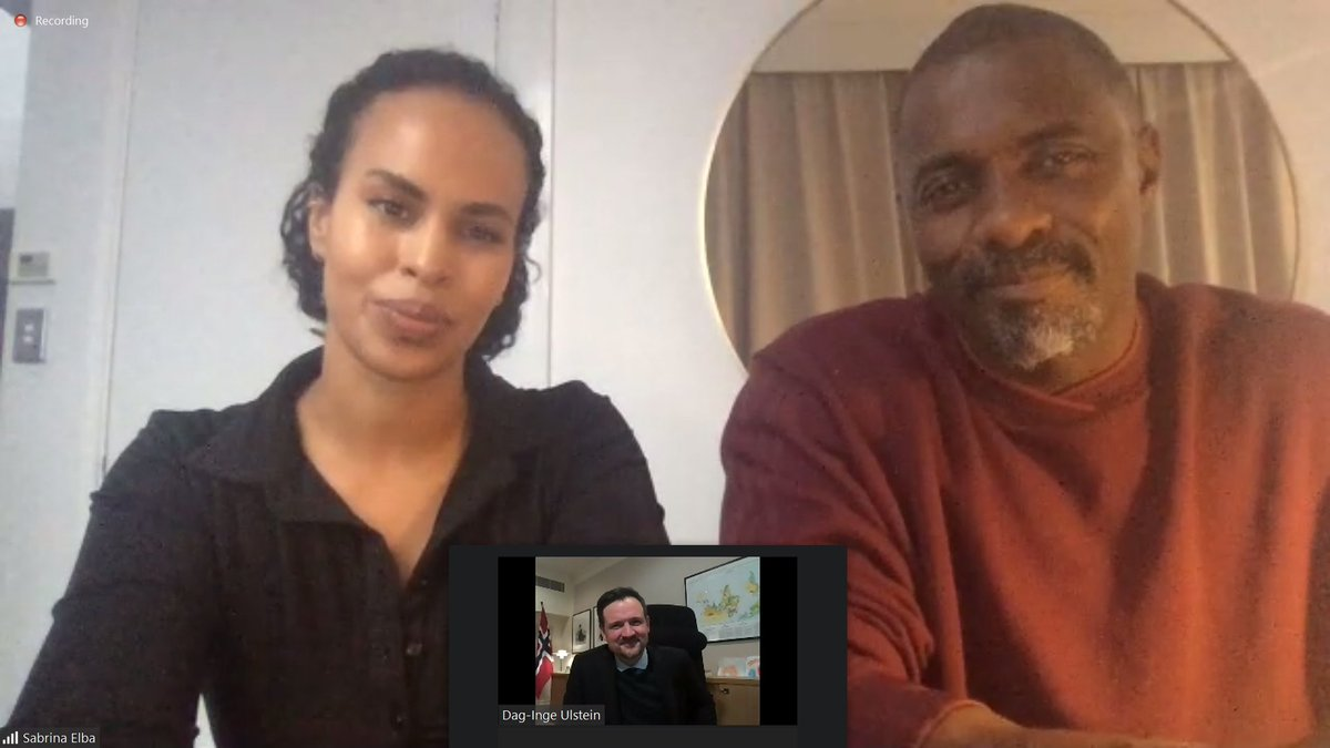 Important conversation with @Sabrinadhowre and @idriselba today about how climate change is impacting the most vunerable! Millions of small-scale farmers are having their harvests destroyed by floods, droughts and wildfires – many are forced to flee their homes. @IFAD @GlblCtzn