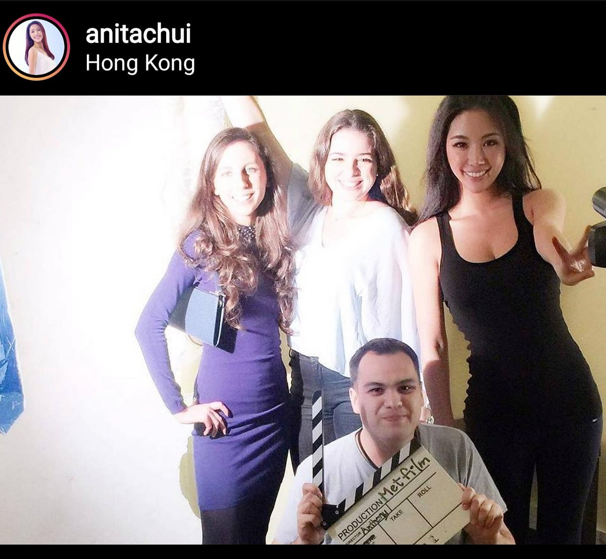 Thanks for the #happymemories Anita Chui ...3 years ago today I embarked on a mission to #better my #actingskills. 8 years later, 5 self produced #shortfilms , 20 odd #international #filmfestival #feature and 4 #Awards i'm still at it! #doitdontquit #downtoearth #samactproduced