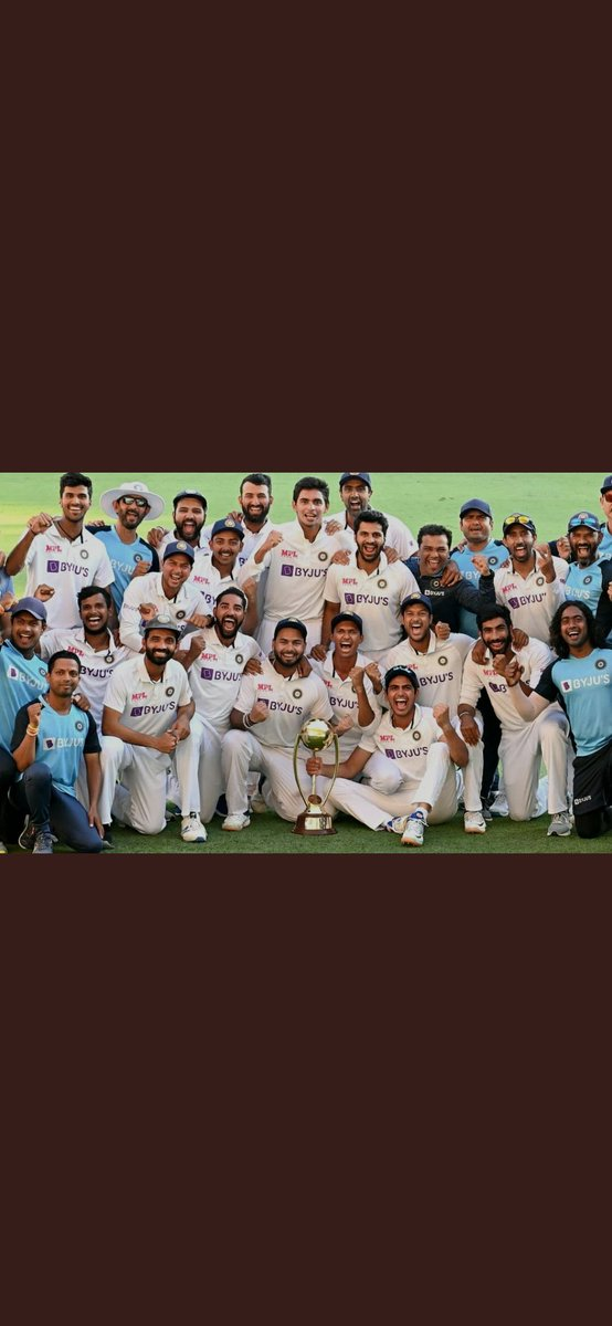 It's called real test match 🔥🔥 congratulations and best wishes #TeamIndia  #BorderGavaskarTrophy #IndianCricketTeam ❤️