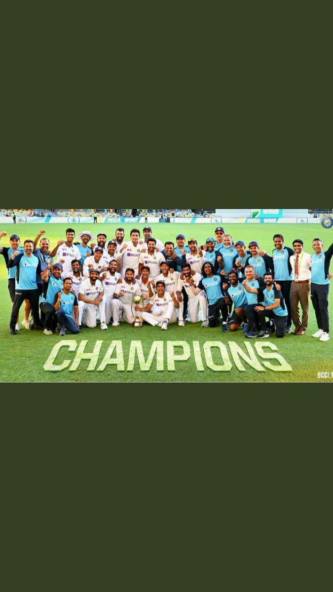 Heartiest congratulations to the team India 🇮🇳🇮🇳 ..... Again proved u r best in the world...#TeamIndia