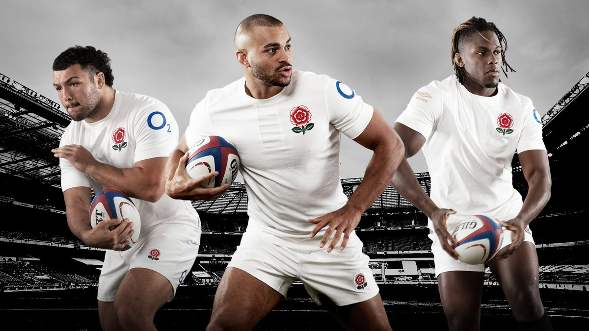 test Twitter Media - Introducing England's 150-year anniversary shirt 😍🌹  It'll be worn by the senior men's team during their Six Nations game against Scotland next month...  A match being played 150 years after the two sides met in the first-ever international rugby Test match 🙌 https://t.co/alzXCPWlB5